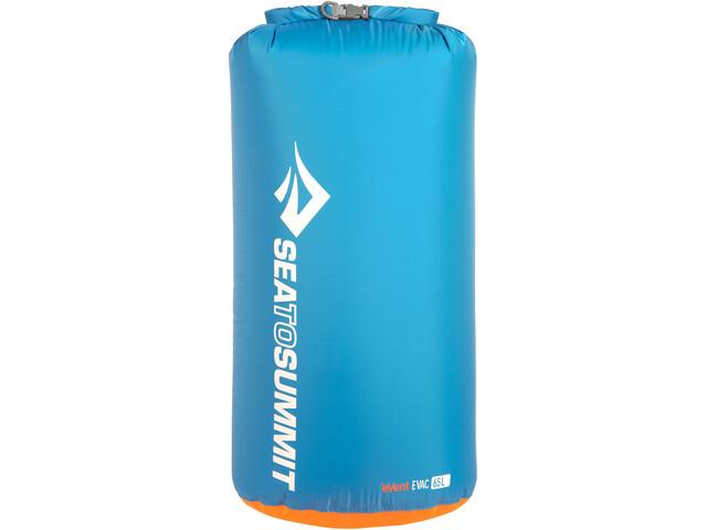 Sea to Summit eVac Borsa impermeabile 65l, blu